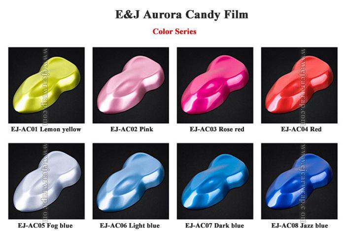Aurora Candy Film_Car-styling--Glossy-Metallic-Glitter-Car